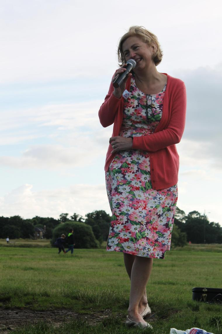 me at Jo Cox picnic